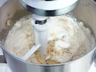 adding dry ingredients