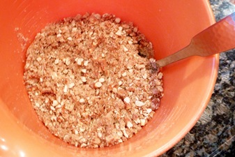 Mixing crust