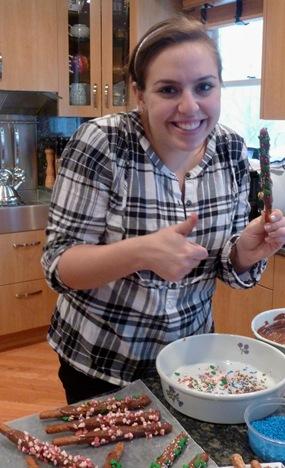 jess making pretzles 7